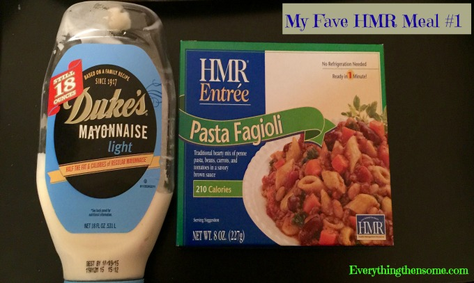 My Fave HMR Meal #1