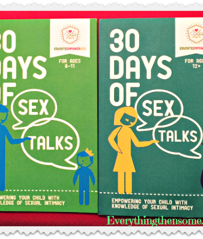 """30 Days of Sex Talks"" Books Review"