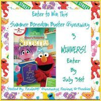Sesame Street: Elmo's Favorite Stories DVD Giveaway