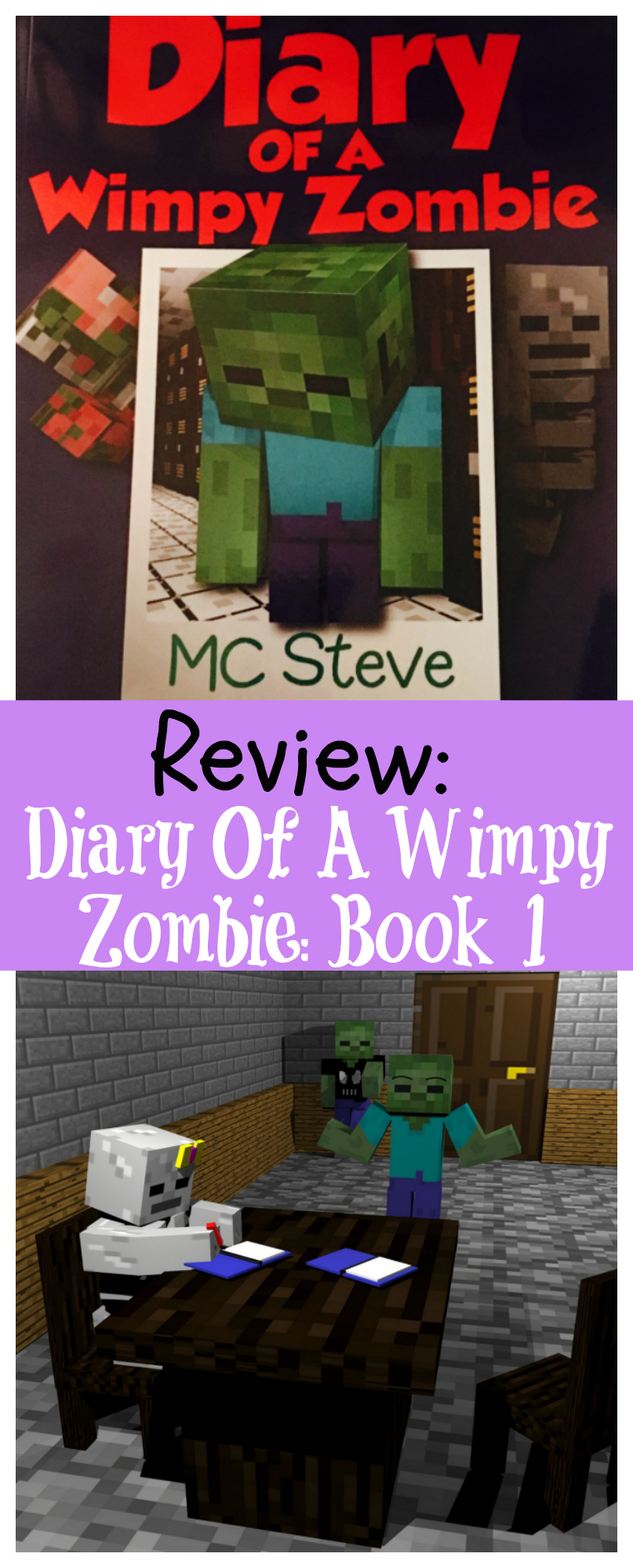 Review: Diary Of A Wimpy Zombie Book 1