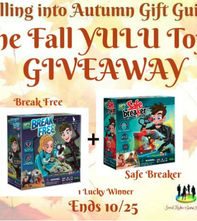 The Fall YULU Toys Giveaway Ends 10/25